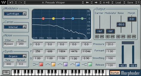 Waves Morphoder [DOWNLOAD] Synth Vocoder MPRTDM