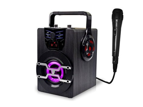 Technical Pro WASP420  Rechargeable Portal Bluetooth LED Speaker  WASP420