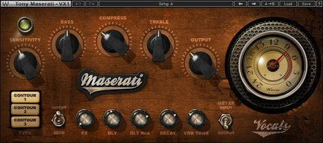 Waves Maserati VX1 [DOWNLOAD] Vocal Enhancer Plugin TMVX1SG