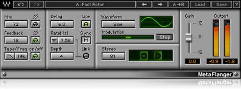 Waves MetaFlanger [DOWNLOAD] Modulation Flanger Phaser Plugin V5-MFD40