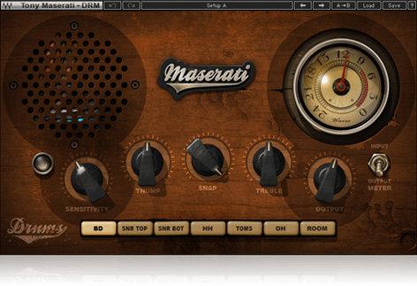 Waves Maserati DRM [DOWNLOAD] Drum Slammer Plugin TMDRMSG