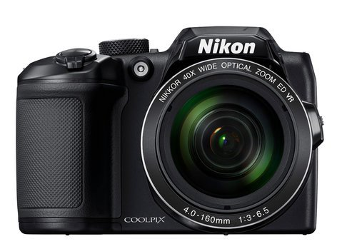 Nikon 26506 COOLPIX B500 16MP Digital Camera with 40x Zoom in Black 26506