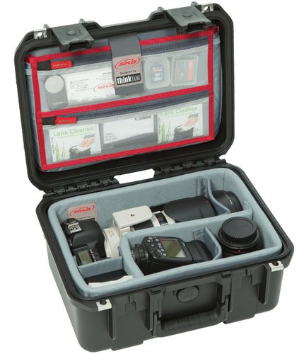 SKB Cases 3i-1309-6DL  iSeries 1309-6 Case with Think Tank Designed Photo Dividers & Lid Organizer 3i-1309-6DL