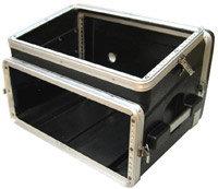 Gator Cases GRC-6X4 Slant Top Console Rack Case (6 RU Top, 4 RU Bottom) GRC6X4
