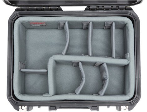 SKB Cases 3i-1309-6DT  iSeries 1309-6 Case with Think Tank Designed Photo Dividers 3i-1309-6DT