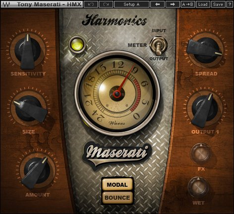 Waves Maserati HMX [DOWNLOAD] Harmonic Generator Plugin TMHMXSG