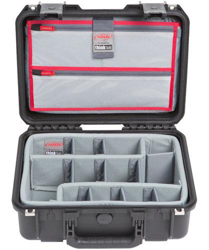 SKB Cases 3i-1510-6DL  iSeries 1510-6 Case with Think Tank Designed Photo Dividers & Lid Organizer 3i-1510-6DL
