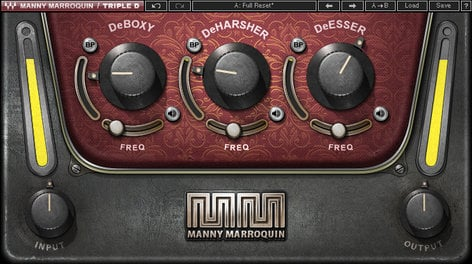 Waves Manny Marroquin Triple D [DOWNLOAD] Dynamic Frequency Adjustment Plugin MMDE3SG