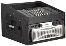 Gator Cases GRCW-10X4 Wood Console Rack (10 RU Top, 4 RU Front) GRCW-10X4
