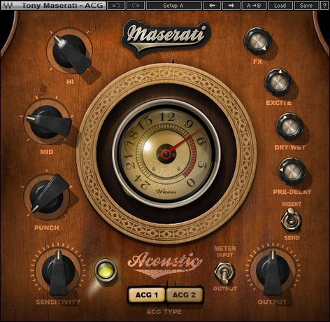 Waves Maserati ACG [DOWNLOAD] Acoustic Guitar Plugin TMACGSG