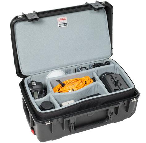 SKB Cases 3i-2011-7DZ  iSeries 2011-7 Case with Think Tank Designed Removable Zippered Divider Interior 3i-2011-7DZ