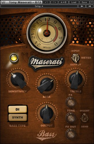 Waves Maserati B72 [DOWNLOAD] Bass Phattener Plugin TMB72SG