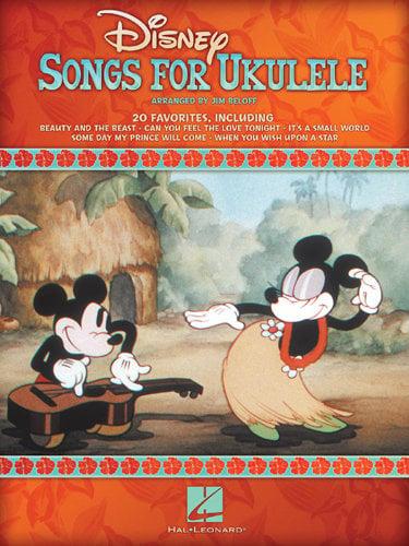 Hal Leonard Disney Songs for Ukulele Songbook, 48 Pages DISNEY-SONGS-FOR-UKE