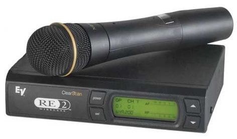 Electro-Voice RE2-N2 Wireless Handheld Mic System with N/D267a Cardioid Dynamic Element RE2-N2