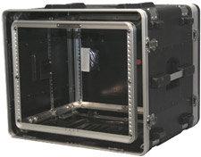 Gator Cases G-SHOCK-8L 8 RU Lockable Shock Rack Case GSHOCK8L
