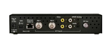 TecNec QMOD-SDI 2 Encoder SDI Dual channel Modulator and Composite In and Agile QAM Output QMOD-SDI2