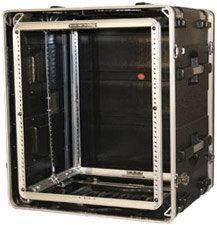 Gator Cases G-SHOCK-12L 12 RU Lockable Shock Rack Case GSHOCK12L