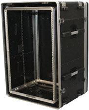 Gator Cases G-SHOCK-16L 16 RU Lockable Shock Rack Case GSHOCK16L