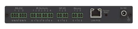 Kramer FC-28 10–port Serial, IR, GPI/O and Relay, PoE Control Gateway FC-28