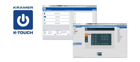 Kramer K-Touch Premium Cloud–Based Platform for Creating iOS and Android Room Control Applications K-TOUCH-PREMIUM
