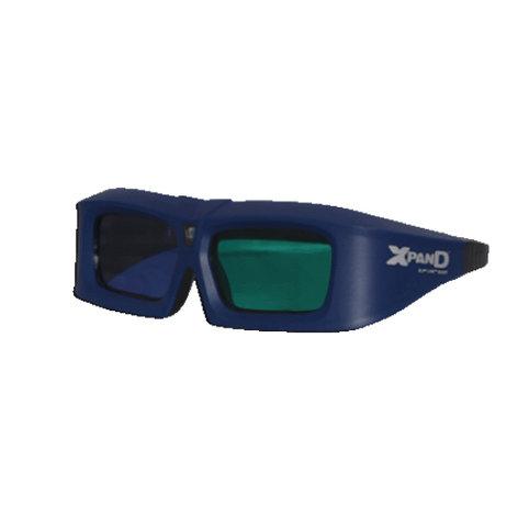 InFocus X103-EDUX3-R1 [EDUCATIONAL PRICING] 3D Glasses for 3D Capable DLP projectors X103-EDUX3-R1