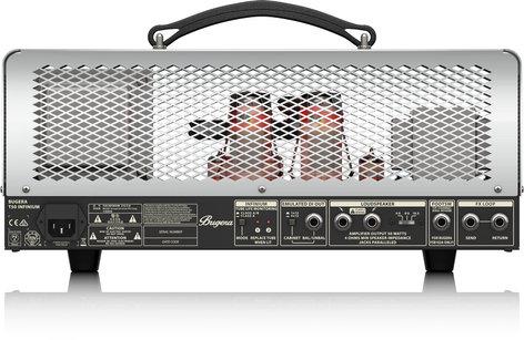 Bugera T50 INFINIUM 50-Watt Cage-Style 2-Channel Tube Amplifier Head T50INFINIUM