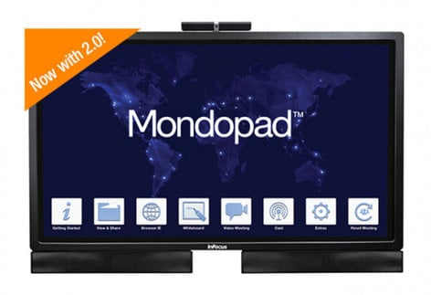 "InFocus INF6522 65"" Mondopad Display with Capacitive Touch INF6522"