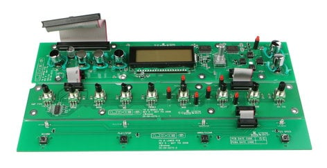 Line 6 50-02-0272  Upper UI PCB Assembly for JM4 50-02-0272