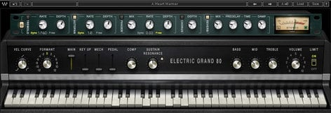 Waves Electric Grand 80 Piano [DOWNLOAD] Virtual Instrument Plugin ELGRND80
