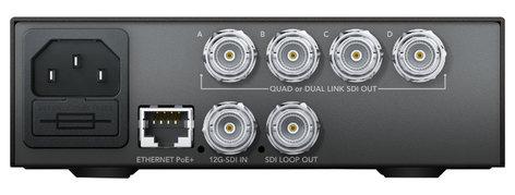 Blackmagic Design CONVNTRM/DB/SDIQD  Teranex Mini - 12G-SDI to Quad SDI Converter  CONVNTRM/DB/SDIQD