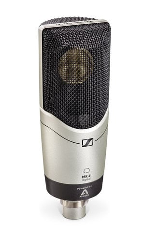 Sennheiser MK 4 DIGITAL Large Diaphragm True Condenser Digital Microphone for USB and iOS MK4-DIGITAL