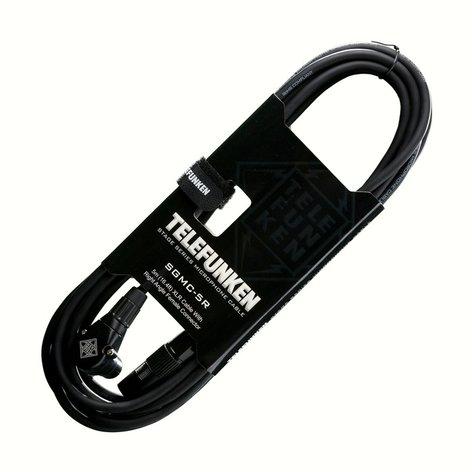 Telefunken Elektroakustik SGMC-5R  16.4 ft XLR Cable with Right Angle Female XLR Connector SGMC-5R