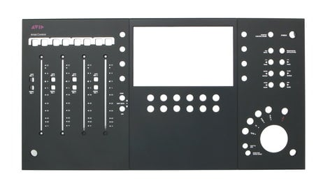 Avid 7600-30848-10  Top Panel Faceplate for MC Control V2 7600-30848-10