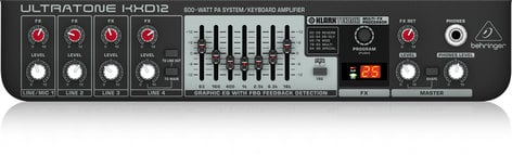 """Behringer ULTRATONE KXD12 600W 1x12"""" Keyboard Combo Amplifier KXD12"""