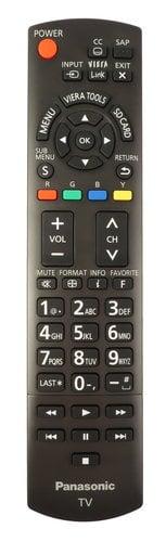 Panasonic N2QAYB001013 Panasonic TV Remote N2QAYB001013