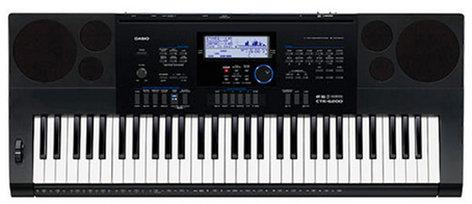 Casio CTK-6200 61-Key Synthesizer CTK6200