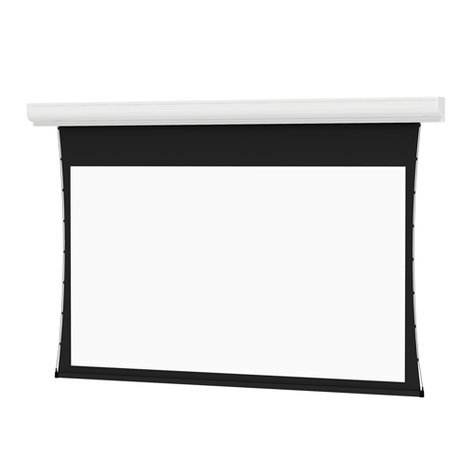 """Da-Lite 37582LS 50"""" x 80"""" Tensioned Contour® Electrol® Electric Projection Screen, Da-Mat, with LVC and Silent Motor 37582LS"""
