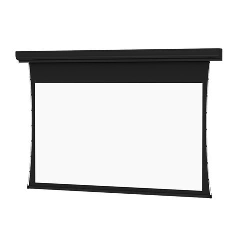 "Da-Lite 37612L 87"" x 139"" Tensioned Contour® Electrol® Electric Projection Screen, Da-Mat 37612L"