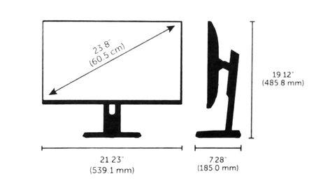 "ETC/Elec Theatre Controls SGM1205 [RESTOCK ITEM] 24"" Ultrasharp Widescreen LCD Monitor SGM1205-RST-01"