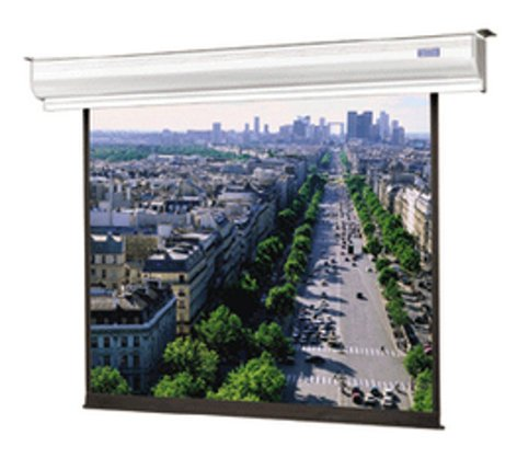 """Da-Lite 88360LS 50"""" x 67"""" Contour® Electrol® Electric Projection Screen, with Integrated Low Voltage Control and Silent Motor, Matte White 88360LS"""