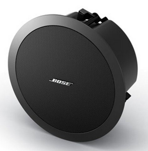 "Bose FreeSpace DS 40F 4.5"" Full-Range Ceiling Loudspeaker with 70/100V Transformer or 8 Ohm Operation in Black DS-40F-BLACK"