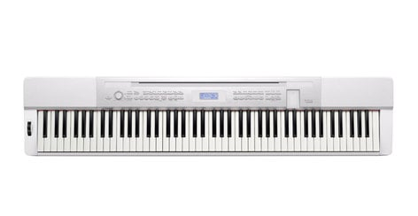 Casio PX350WE 88-Key Digital Piano, White PX350WE