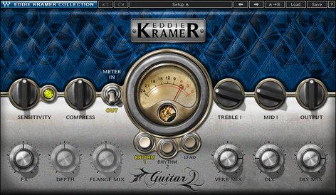 Waves Eddie Kramer Guitar Channel [DOWNLOAD] Guitar Effects Plugin EKGTSG