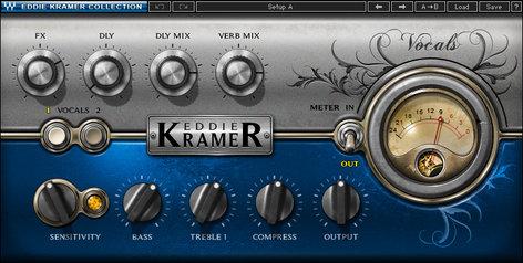 Waves Eddie Kramer Vocal Channel [DOWNLOAD] Vocal Effects Plugin EKVCSG