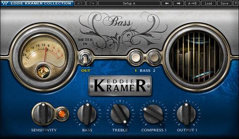 Waves Eddie Kramer Bass Channel [DOWNLOAD] Bass Guitar Effect Plugin EKBASG