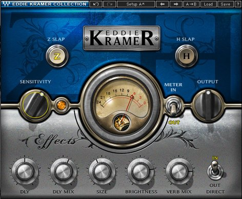 Waves Eddie Kramer Effects Channel [DOWNLOAD] Multi-Effects Plugin EKFXSG