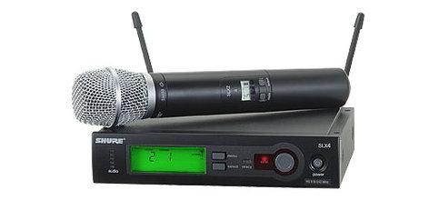 Shure SLX24/SM86 Wireless Microphone System with SLX2/SM86 Handheld Transmitter SLX24/86