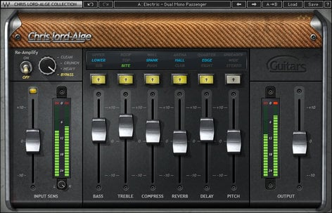 Waves CLA Guitars [DOWNLOAD] Guitar Effects Plugin CLGTSG