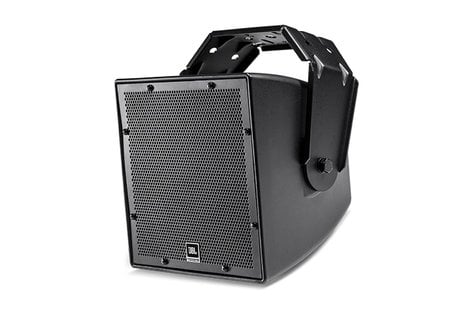 """JBL AWC62 All-Weather Compact 2-Way Coaxial Loudspeaker with 6.5"""" LF , Black AWC62-BK"""