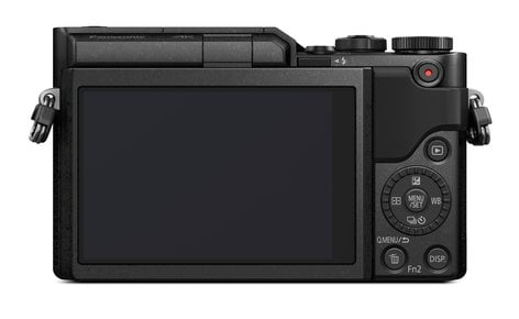 Panasonic DC-GX850 GX850 16MP 4K Mirrorless ILC Camera with 12-32mm Mega O.I.S. Lens Kit DC-GX850